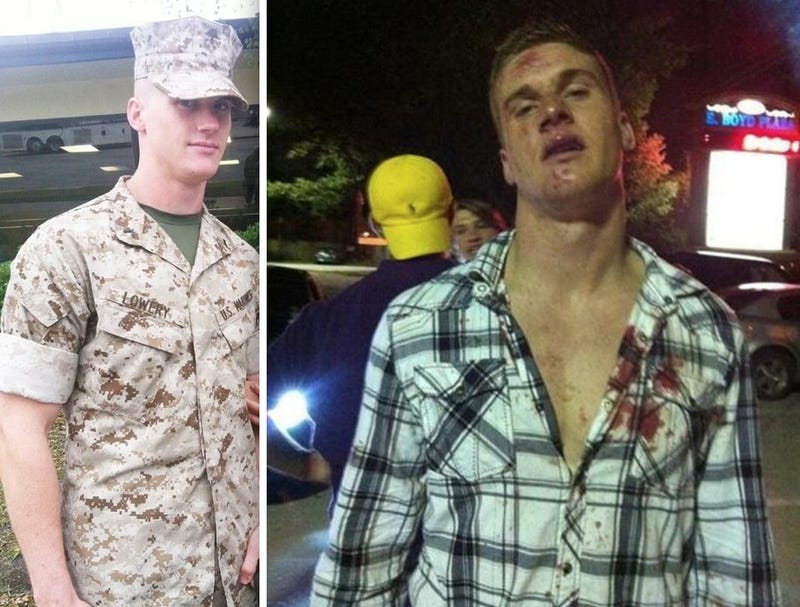 This Is The Bloodied Marine That LSU's Jordan Jefferson Allegedly Kicked In The Face