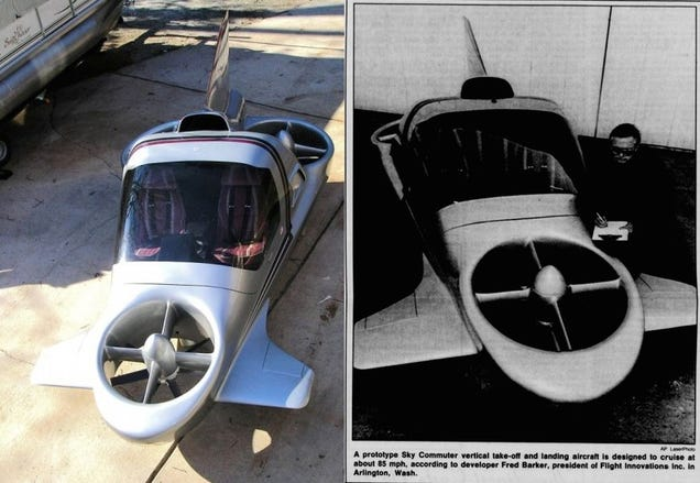Flying Car Prototype From 1990 Going Up For Auction