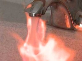 If You Can Light the Water Coming From Your Tap on Fire, You Might Have a Problem