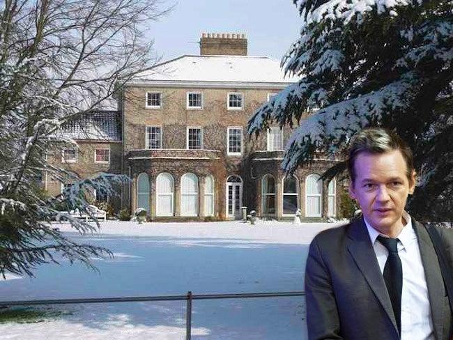 Julian Assange's English Mansion Awaits