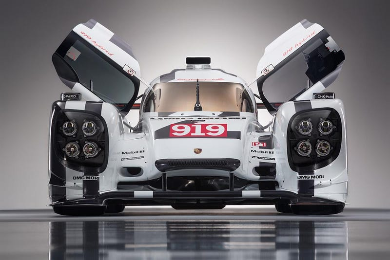 Drink In The Beauty Of Porsche's Le Mans Race Cars