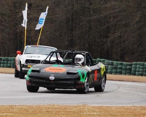 Four Hours In, Ford Probe Leads