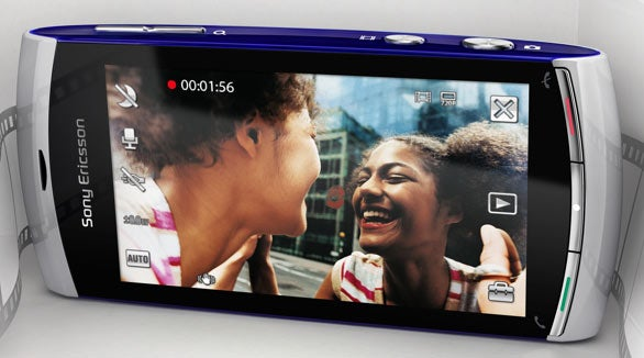 Sony Ericsson Vivaz Shoots HD Video (Also Takes Calls and Stuff)