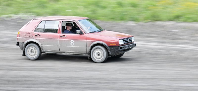 The $500 Craigslist Rally Car Goes To School