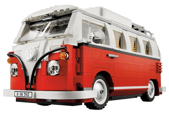 Lego Volkswagen Camper Van Is a Must Have Model Even If You're Not a Damn Hippie