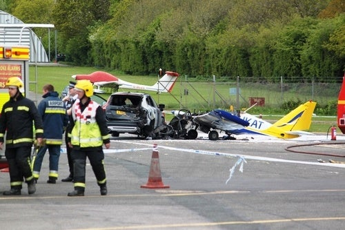 Volvo XC60 Plane Crash