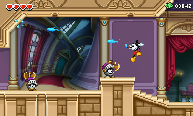 Epic Mickey On 3DS Looks Straight Outta 1992