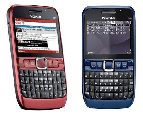 Nokia E63 Unlocked 3G QWERTY Now Available in the US for $279
