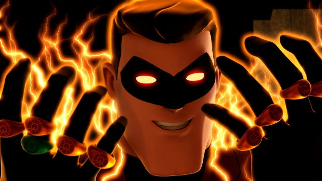 Hal Jordan has #orangelanternproblems on Green Lantern: The Animated Series