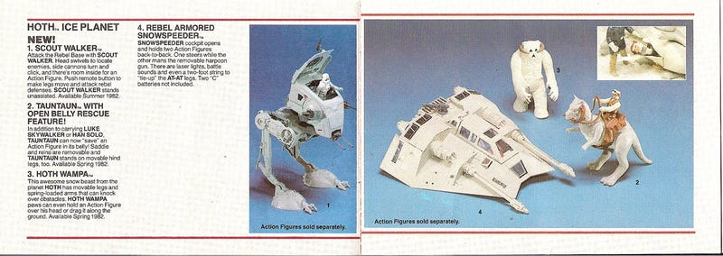 And now, a slew of The Empire Strikes Back playsets