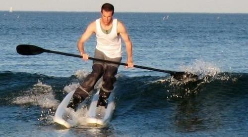 Surf Skiing Takes Surfing and Injects it with a Healthy Dose of Dorkiness