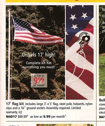Make Memorial Day Memorable With Tacky Crap From Fingerhut