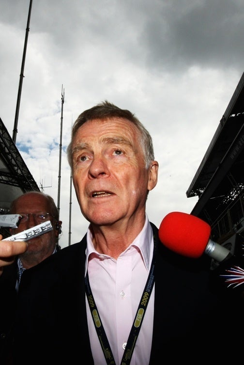 Max Mosley To Step Down As F1 President