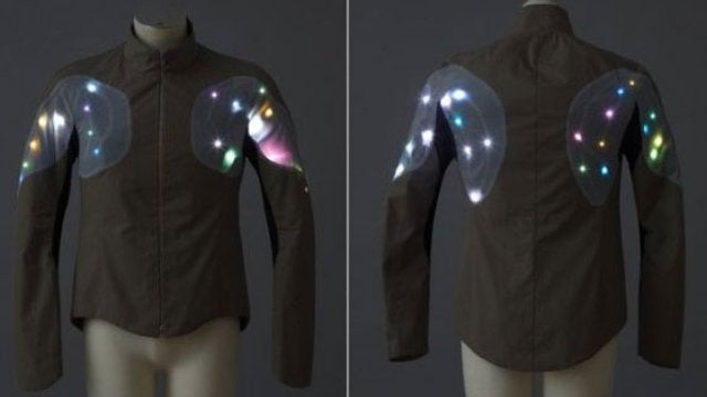 Light-Up Psychedelic Clothes Designed to Freak Out Squares and Protect Cyclists