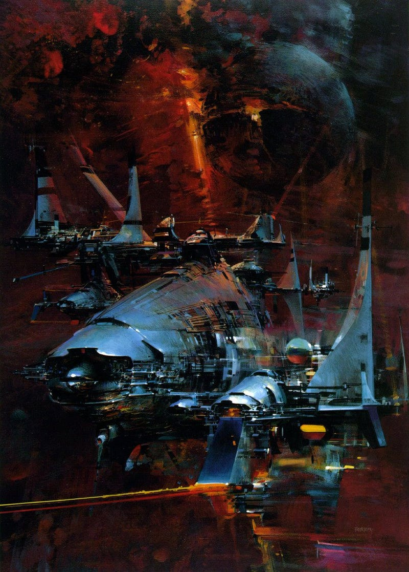 John Berkey's space art makes me nostalgic for a future that never was