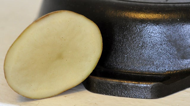 Remove Rust from Cookware with a Potato