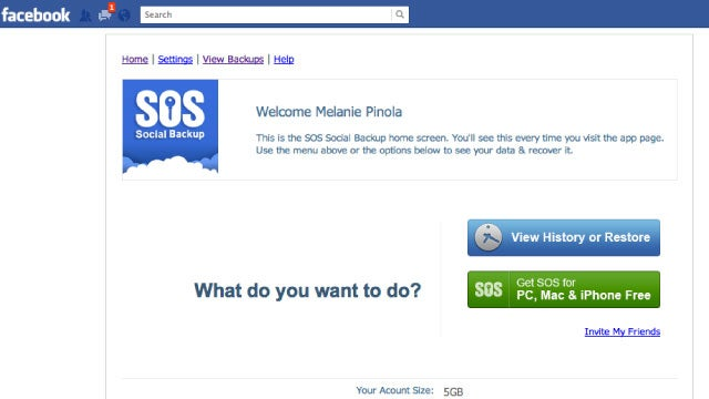 SOS Online Backup Saves Your Data from Windows, Mac, iPhone, and, Yes, Even Facebook