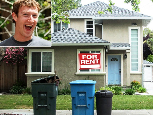 Rent Mark Zuckerberg's House!