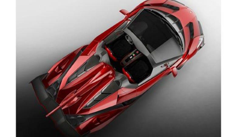 The Lamborghini Veneno Roadster Has No Roof And Costs $4.5 Million