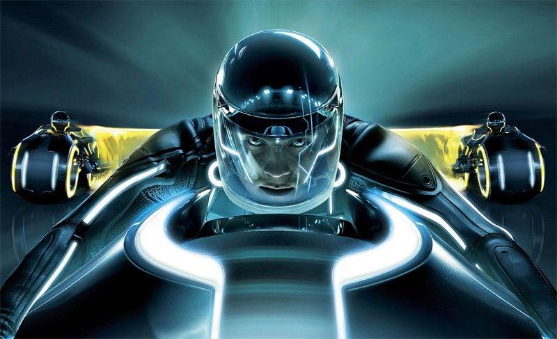 An Eyes-On Sneak Peek At Tron Legacy... In 3D!!!