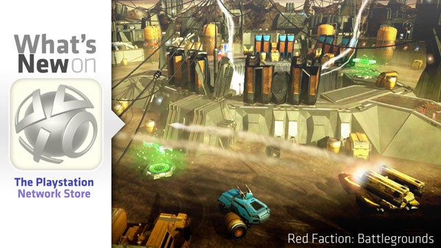 PlayStation Store Update: Red Faction: Battlegrounds, SOCOM 4 and StarDrone