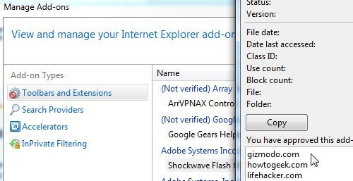 "Use Internet Explorer's Built-in ""Flash Block"" Feature"