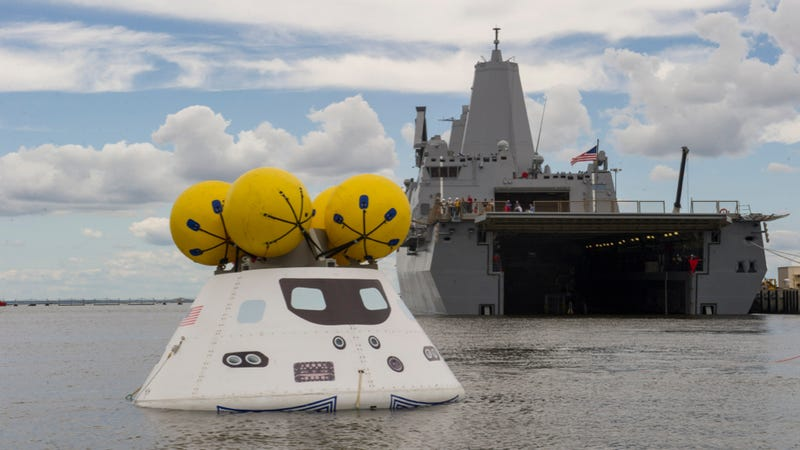 With One Small Step For Orion, NASA Practices Ocean Recovery