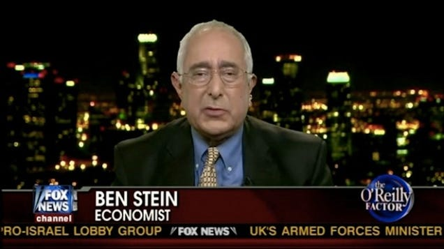 Ben Stein Writes Truly Bizarre Essay On Being A Creepy Old Man