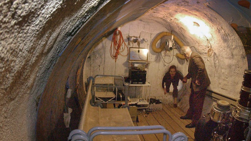 Ride Out North Korea's Preemptive Strike in These 24 Cold War Fallout Shelters