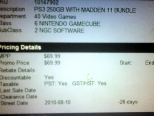 Madden 11 Bundles Up with the PS3