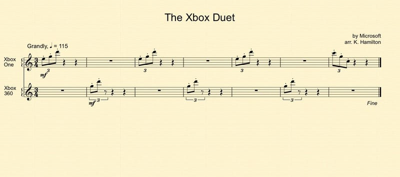 ​When You Start Up The Xbox One, It Plays A Pretty Song