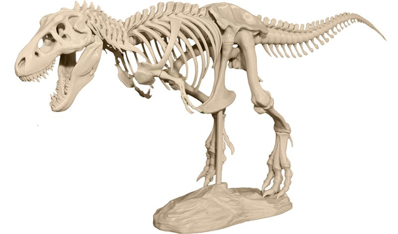 Start Your Own Private Museum With a 3D Printer and This T-Rex Model