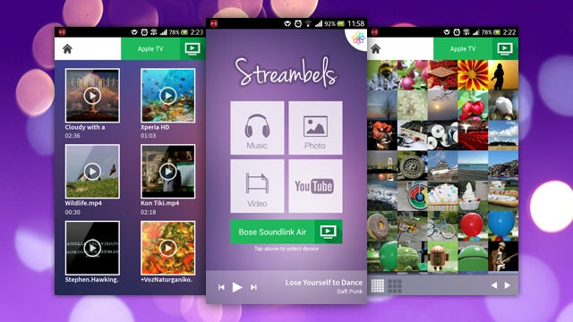 Streambels Streams Your Phone to TVs, Consoles, and Set-Top Boxes