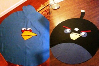 Clever Men Are Wearing Angry Birds for Halloween This Year