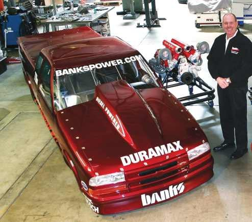 Diesel Powered Banks S-10 Sets New World Records