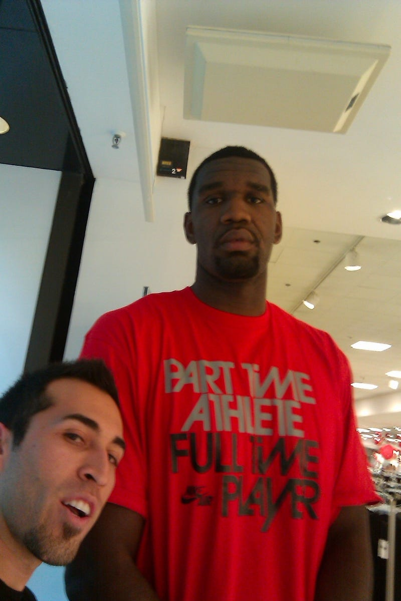 Greg Oden's Shirt Is Far More Accurate Than He Realizes