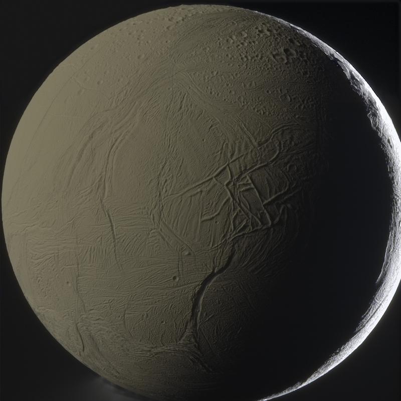 See Saturn's weird moon Enceladus in breathtaking detail!
