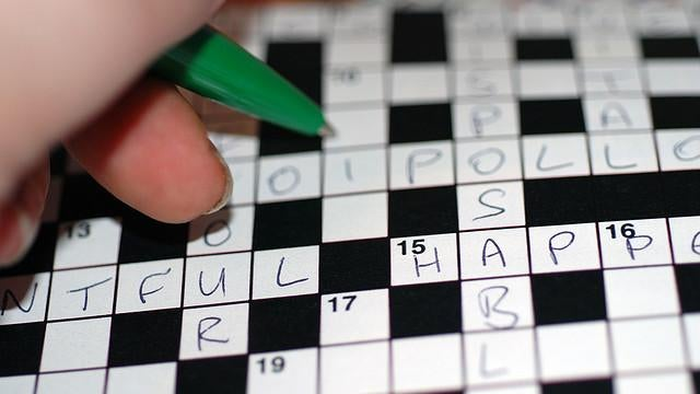 COTD: Sunday Morning Crossword Edition