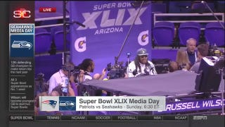 Watch Marshawn Lynch Give The Same Answer 25 Times At Media Day