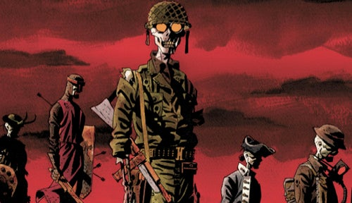 A very anachronistic comic book Thursday, filled with vamps and weird wars