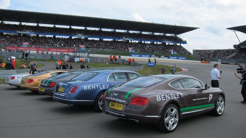 Why Yes, I'd Love To Lap The 'Ring In The Bentley CEO's $267,000 Car