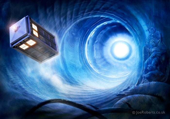Doctor Who's mode of spacetime travel described in new physics paper