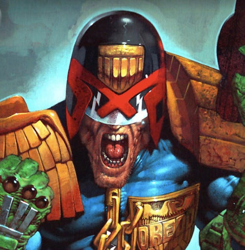 "The upcoming Judge Dredd movie is simply ""Dredd,"" will be ""neo-noir action"""