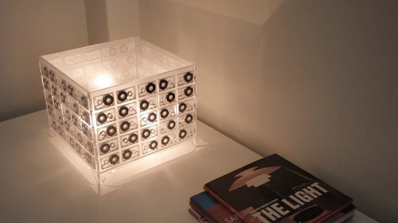 Cassette Lamp Is a Shining Ode to Analog