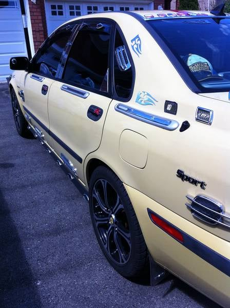 For $5,500 In Loonies, This Is The Car With The Walmart Tattoo