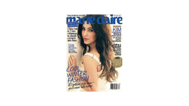 The Brand New Marie Claire Claims To Have Some Insight Into Cover Star Kim Kardashian's Divorce