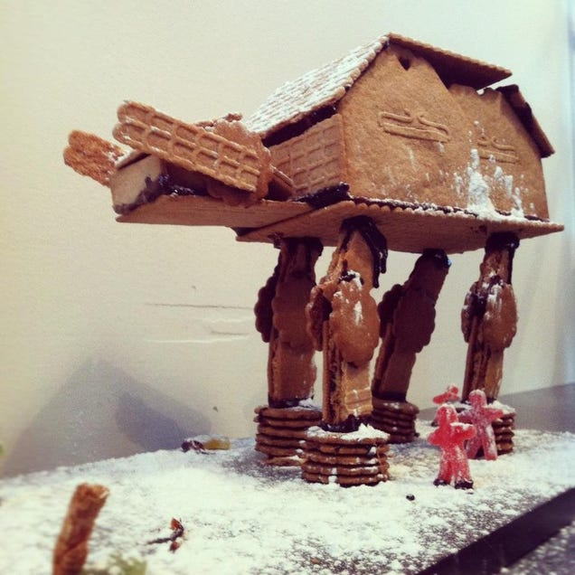 Look at All This Beautiful Nerd Stuff You Can Make with Gingerbread