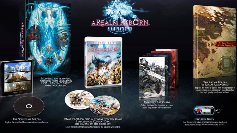 Final Fantasy XIV Reborn August 27, Gets Another Collector's Edition