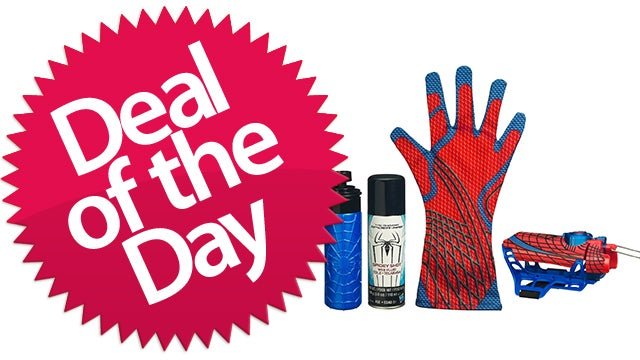 This Spider-Man Mega Blast Web Shooter Is Your Does-Whatever-A-Spider-Can Deal of the Day