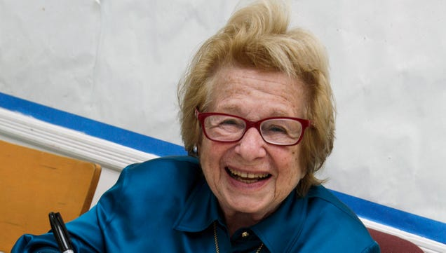 Dr. Ruth's Halloween Advice Is the Best Halloween Advice